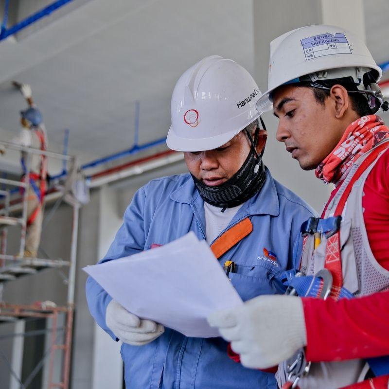 industrial factory workers